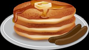 Pancakes-and-Sausage