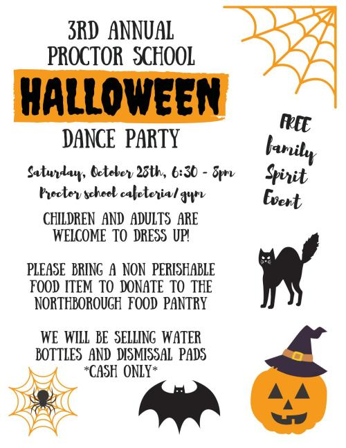3rd Annual Halloween party flyer 2017_18