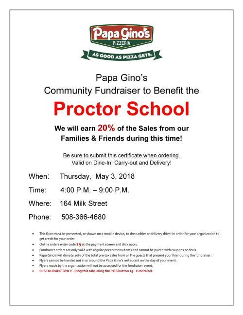 Proctor School - May